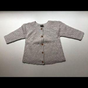 🐿SOLD🐿Seed Ecru Cotton Cardigan 9-12 Months